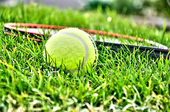 Tennis by Martina Fagan