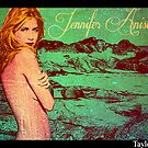 Jennifer Aniston Pop Art poster 2 by Daniel  Taylor