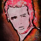 Grungy James Dean in red by JillySB