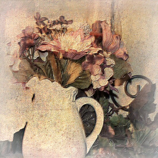 Grandmother's Pitcher by Sherry Hallemeier