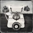 Rotary dial telephone, c.1920s (2013) by Joshua Steele