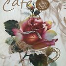 Cafe Sign With Rose by CatAstrophe