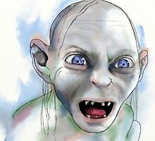 Gollum. by Hayley Thompson