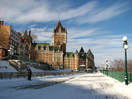 Quebec City Canada Fort Du Frontenac by angbet31