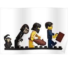 The Evolution of Bricks Poster