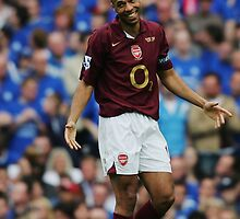 Thierry Henry - Arsenal by Thierry Henry14.net