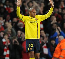 Thierry Henry - FC Barcelona by Thierry Henry14.net