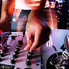 cool urban dj close-up  by dubassy