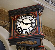 Charing Cross Railway Station Clock London by Keith Larby