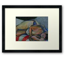 Asleep- After the Party Framed Print