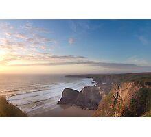 stunning england coast Photographic Print