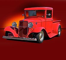 1934 Ford Pick-Up w/o ID by DaveKoontz