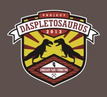 Project Daspletosaurus Tee - Dark Color Kids Clothes