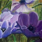 Anemones by TepeeArt