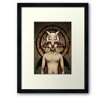 PETIT BAPHOMET Framed Print