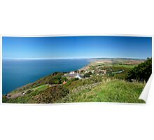 Blackgang and Chale Bay Panorama Poster