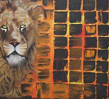 Lion (Safari, African Animals) by Laura Barbosa