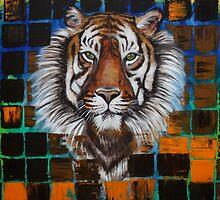 Sumatran Tiger by Laura Barbosa