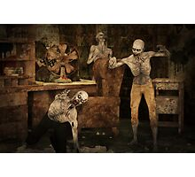 Zombie Apocalypse Photographic Print
