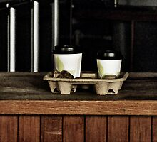 Two Coffees and a Muffin to Takeaway by PictureNZ