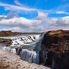 Gullfoss - Iceland Waterfall by Joel Brown