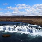 Faxi Waterfall Iceland by Joel Brown