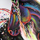 Rainbow Appaloosa by louisegreen