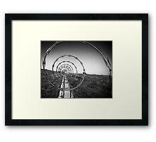 Wiry Framed Print