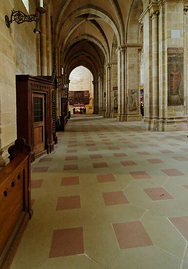Cathedral, Bamberg 5 by Priscilla Turner