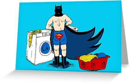Holy Laundry Day! by Zach Shonkwiler