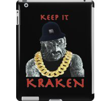 KEEP IT KRAKEN iPad Case/Skin