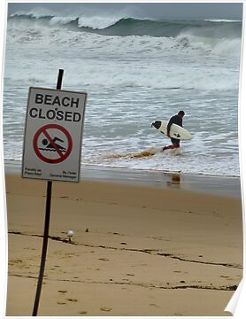 Beach Closed by jlv-