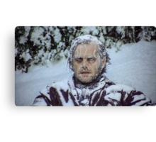 frozen jack Canvas Print