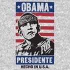 Obama for presidente by ziruc