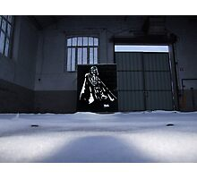 Vader spraypainting Photographic Print