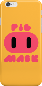 Pig Mask Logo by Studio Momo ╰༼ ಠ益ಠ ༽
