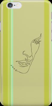 one line lips by jatujeep