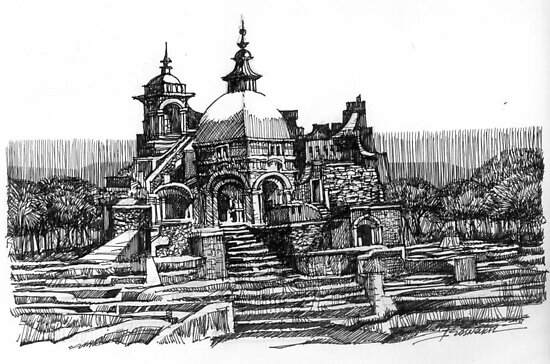 Ancient Temple by alexvos