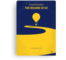 No177 My Wizard of Oz minimal movie poster Canvas Print