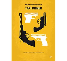 No087 My Taxi Driver minimal movie poster Photographic Print