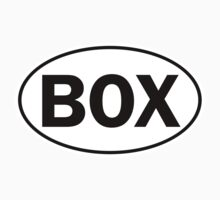 BOX - Oval Identity Sign by Ovals