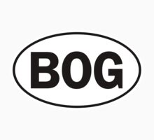 BOG - Oval Identity Sign by Ovals