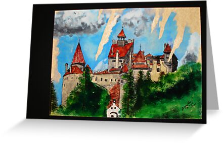 Bran Castle by Dragos Olar V