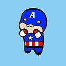 Baby Captain America by missbrodrick
