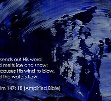 Psalm 147: 18 by Simon Peter