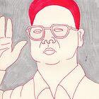 Kim-Jong il valentine by Dinah Stubbs