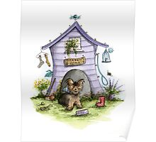 Sparkys House - Dog Cards & Prints  Poster