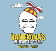 Kamekona's Helicopter Tours logo from Hawaii 5-0 S3 (Outline) by Sharknose