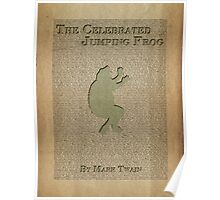 Jumping Frog by Mark Twain Poster