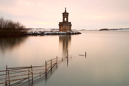 Normanton Church Sunset by Nick Atkin